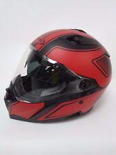 caberg stunt blade motorcycle helmet matt black/RED MEDIUM G/30