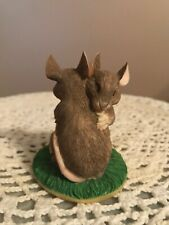 Chaming Tails Love Mouse Figurine I Love You Hugging Mice Silvestri