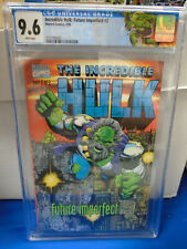 Marvel INCREDIBLE HULK: FUTURE IMPERFECT #2 (1993) CGC 9.6 Embossed Cover