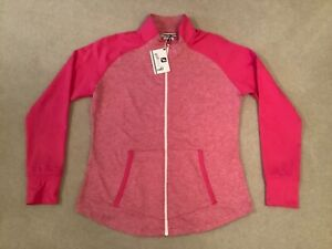 Ladies Pink Footjoy Full Zip Chill-Out Top Size Large (UK14) New