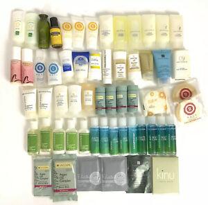 Travel Size Toiletries Lot Of 50+ Items Mixed Shampoo Body Wash Soap Lotion