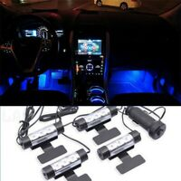 4 in1Car Interior Light LED Charge Accessories Floor Decorative Atmosphere Lamp