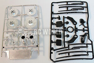 RC 1/10 RC DRIFT Car Accessories -EXHAUST-MIRRORS -WIPERS - INTERCOOLER -ROTORS