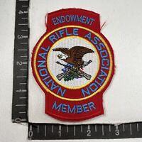 NRA National Rifle Association ENDOWMENT MEMBER Patch 00TP