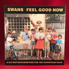 SWANS Feel Good Now 1987 UK DOUBLE vinyl LP + POSTER EXCELLENT CONDITION