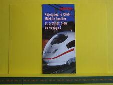 Catalogue MARKLIN Exclusiv 2006 F Séries limitées Zeppelin en 1 P8 Neuf 10 p