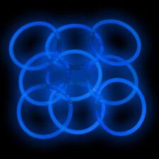 """500 8"""" Premium GlowSticks Glow Bracelets BLUE"""