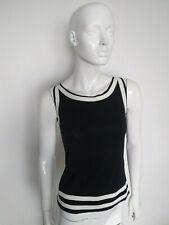 BOSS HUGO BOSS women's black top sleeveless size S