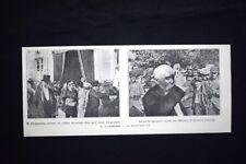 Georges Clemenceau, primo ministro di Francia, La Roche sur Yon Stampa del 1906