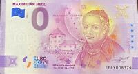 BILLET 0 EURO MAXIMILIAN HELL ANNIVERSARY  SLOVAQUIE 2020  N° DIVERS