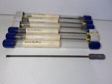 Sterling Half Round Gun Drills 14 X 215mm Carbide Tip Gunsmith Machinist New