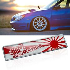 1x Japanese Rising Sun Style Emblem Badge Decal Side Fender Trunk Decor Stickers