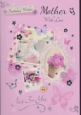 Mother Birthday Card ~ Choice Of Design