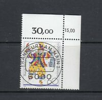 BRD Mi-Nr. 1349 KBWZ  Bogenecke zentrischer Vollstempel Ersttag Frankfurt/Main