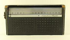 Vintage SEARS Silvertone Medalist 8 Transistor Radio, Model 4211, Circa 1963