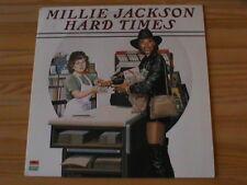 MILLIE JACKSON - HARD TIMES *Original LP von 1982 Polydor* NEUWERTIG / MINT