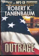 Audio book - Outrage by Robert Tanenbaum   -   MP3-CD