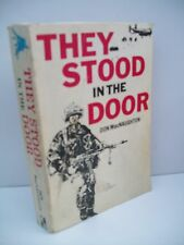 Book, They Stood In The Door by Don McNaughton, SIGNED