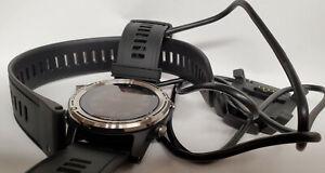 "Garmin Descent Mk1, 1.2"", Silver with Black Band GPS Watch"