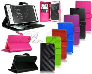 New Genuine Leather Wallet & Flip Luxury Phone Case For Sony Xperia Mobile Phone