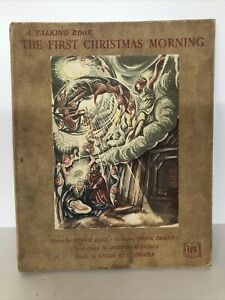 The First Christmas Morning Antique Book