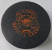 VINTAGE NATIONAL OFFICIAL LEAGUE SNG OLD HOCKEY PUCK MADE IN CZECHOSLOVAKIA