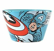 Captain America Cereal Bowl Marvel Comic Collection Ideal Gift Pack for Kids