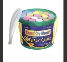 Creativity Street Sidewalk Chalk 4 x1 Dia. Jumbo Stick Assorted Colors 20 pce
