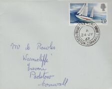GB 1967 FIRST DAY COVER, SIR FRANCIS CHICHESTER'S WORLD VOYAGE SG751