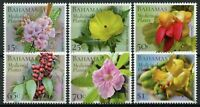 Bahamas Flowers Stamps 2020 MNH Medicinal Plants Nature Flora 6v Set