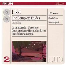Liszt: The Complete Etudes, , Good
