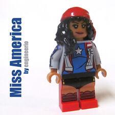 LEGO Custom - Miss America Chavez - Marvel Superheroes spiderman ironman captain