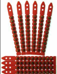 RED CARTRIDGES/SHOTS FITS HILTI DX460, DX 460 PACK 500