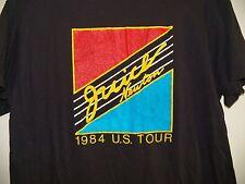 Vintage 80's JUICE NEWTON 1984 US Tour Black Concert T-Shirt Pop Country Music