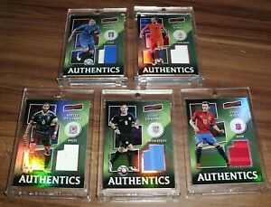 2016-17 Aficionado Soccer Jersey Patch Material Pick From List Complete Your Set