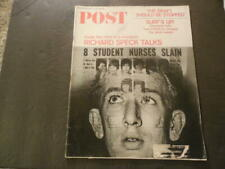Saturday Evening Post Jul 1 1967 Richard Speck Was A Very Bad Boy ID:43952