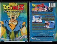 Dragon Ball Z - Fusion: The Last Saiyan (Brand New Anime DVD, Edited and Uncut