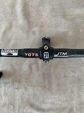 Stem Black 3TTT, ITM Millennium Ergal 7075 Ultra Lite Handlebar Retro Vintage