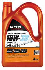 Nulon Semi Synthetic Hi-Tech Engine Oil 10W30 6L HT10W30-SIX