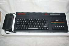 SINCLAIR ZX SPECTRUM +2 128K COMPUTER COMPLETE WITH CABLES