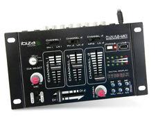 Inserisci nell'impianto Ibiza dj21usb-MKII 4 canali Stereo Mixer con USB/mp3