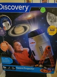 Discovery Space Projector 2-in-1 Stars & Planets Kids New A7