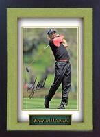 Tiger Woods signed autograph Legend Golf Memorabilia Framed #003