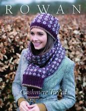 Ladies Knitting Pattern Book Rowan Cashmere Tweed DK Knittingbook
