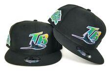 New Era Black Tampa Bay Rays  Snapback 9Fifty Hat