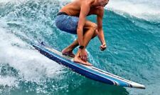 Wavestorm 8' Classic Surfboard Blue StripesC