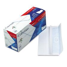 Columbian® Self-Seal Envelopes w/Security Tint, #10, 4 1/8 x 9 1/2, 100 White