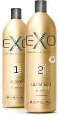 Kit 2x1000ml Exo Hair Profissional Ultratech queratina brasileira