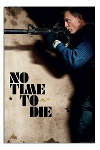 """James Bond No Time To Die Rifle Poster Official Licensed 24x36"""" 