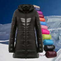 Womens Packable Hoodie Warm Down Coat Thin Ultralight Puffer Lightweight Jacket